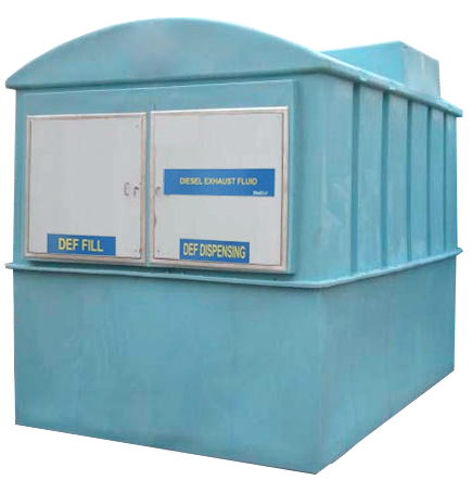 KleerBlue 2000/2600 Deluxe Turn-Key Bulk Storage & Dispensing System